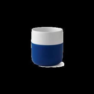 Blå kop