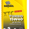 Bardahl Motorolie - XTC 15W/40 Turbo ( Mineralsk baseret ) 1 ltr Olie & Kemi > Motorolie