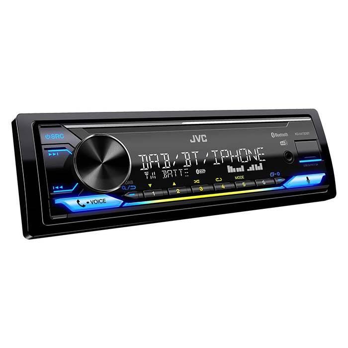 JVC autoradio KD-X472DBT RDS CD-tuner med DAB+ Bilstereo