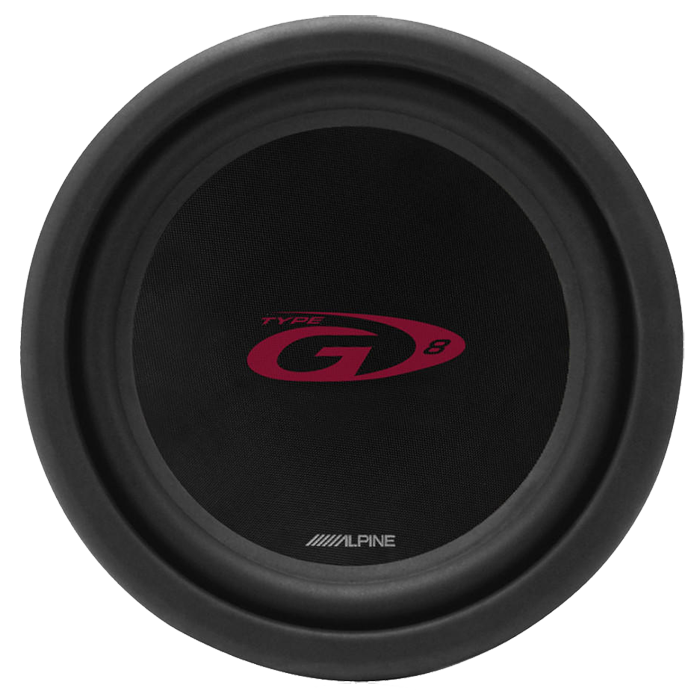 """Alpine SWG-844 8"""" Subwoofer G-Serie Bilstereo > Subwoofere > Alpine > Subwoofere G-Serie"""