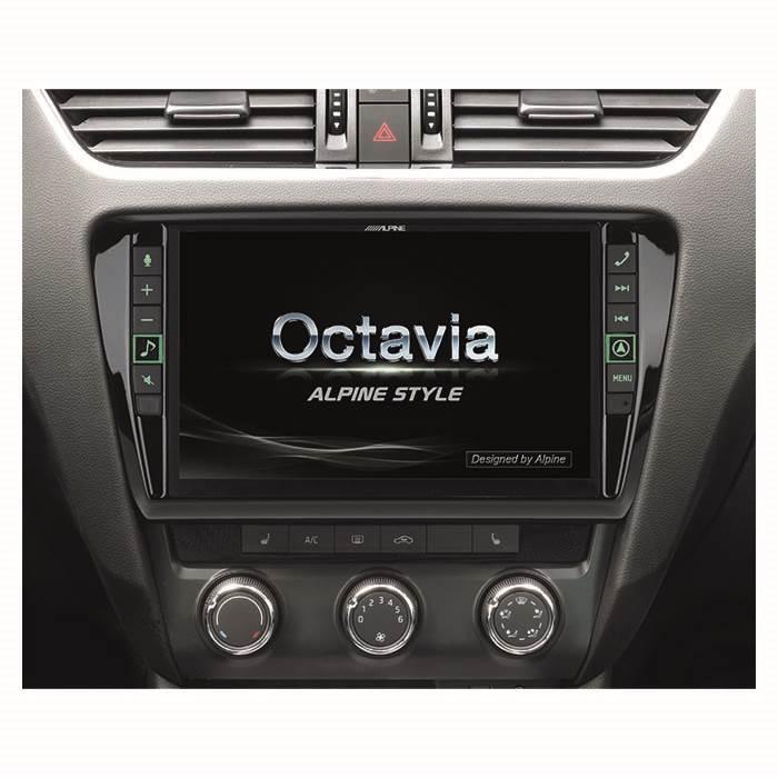 Alpine Style X903DOC3 Skoda Octavia - Multimedia Navigation Bilstereo > Navigation