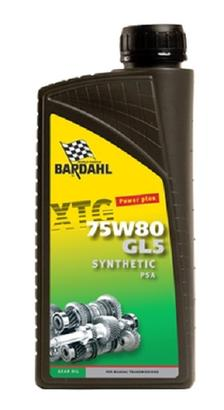 Bardahl Gearolie - XTG 75W80 GL5 PSA 1 ltr Olie & Kemi > Gearolie