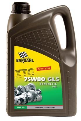 Bardahl Gearolie - XTG 75W80 GL5 PSA 5 ltr Olie & Kemi > Gearolie