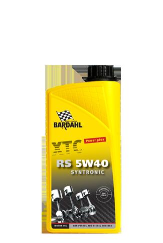Bardahl Motorolie - XTC RS 5W/40 Syntronic 1 ltr Olie & Kemi > Motorolie