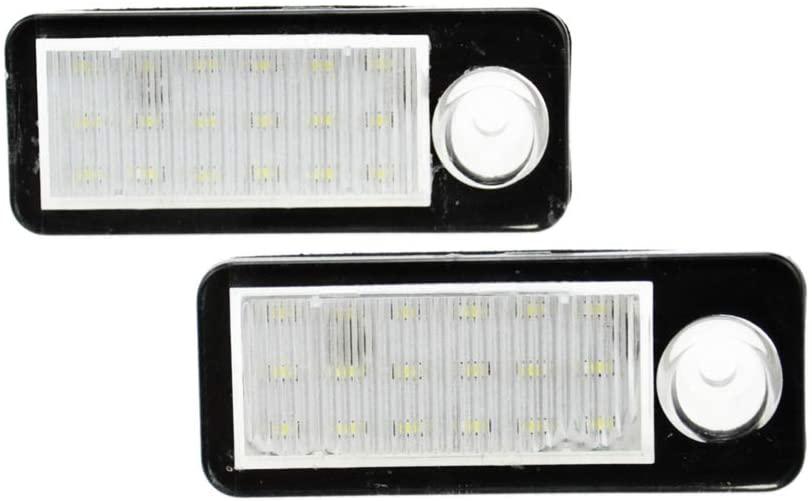 JOM LED Nummerpladelys 2 stk. til Audi A6 C5/4B avant Udvendig tilbehør
