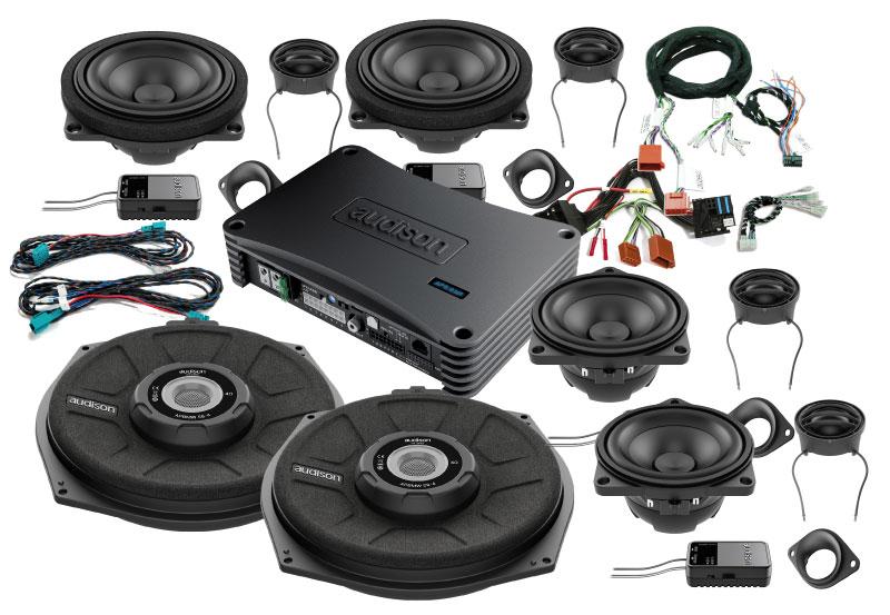 Audison SoundPack til BMW 5 serie fra 2010 > bl.a. Bilstereo