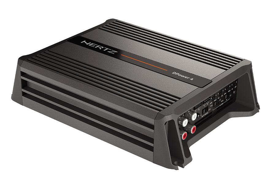Hertz DPower forstærker 4 kanals Bilstereo > Forstærkere > Hertz