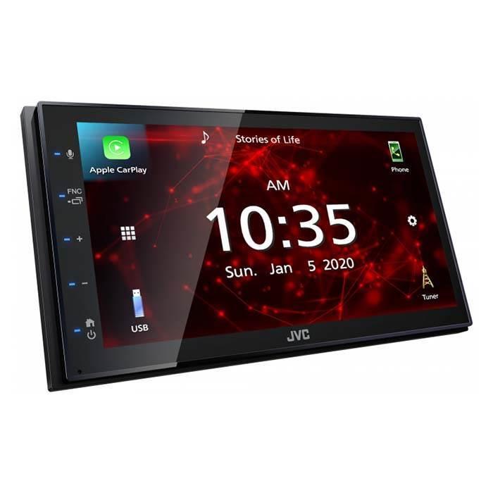 JVC autoradio KW-M560BT 2 DIN App Radio / Carplay & Android Bilstereo