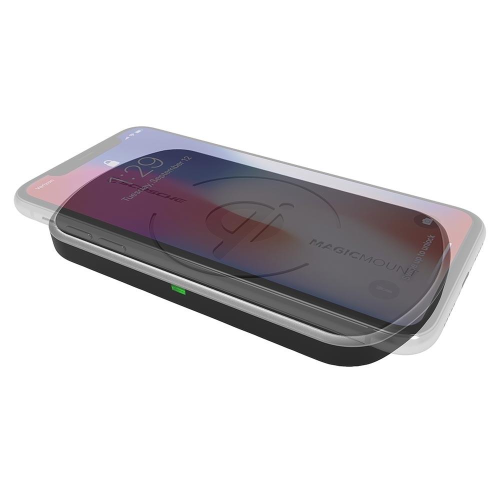 Scosche magicMOUNT Qi 10W - bordlader - trådløs opladning Indvendig tilbehør > Mobil tilbehør