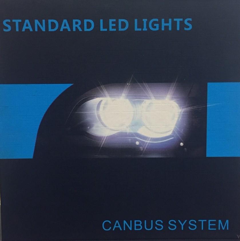 Standard LED forlygtepærer kit H7 Udvendig tilbehør