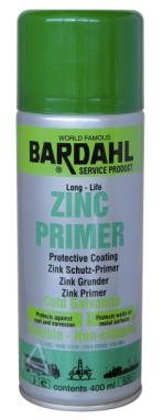 Bardahl Zink Primer - 400 ml. Olie & Kemi > Spray