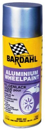 Bardahl Aluminium Fælgmaling - 400 ml. Olie & Kemi > Spray