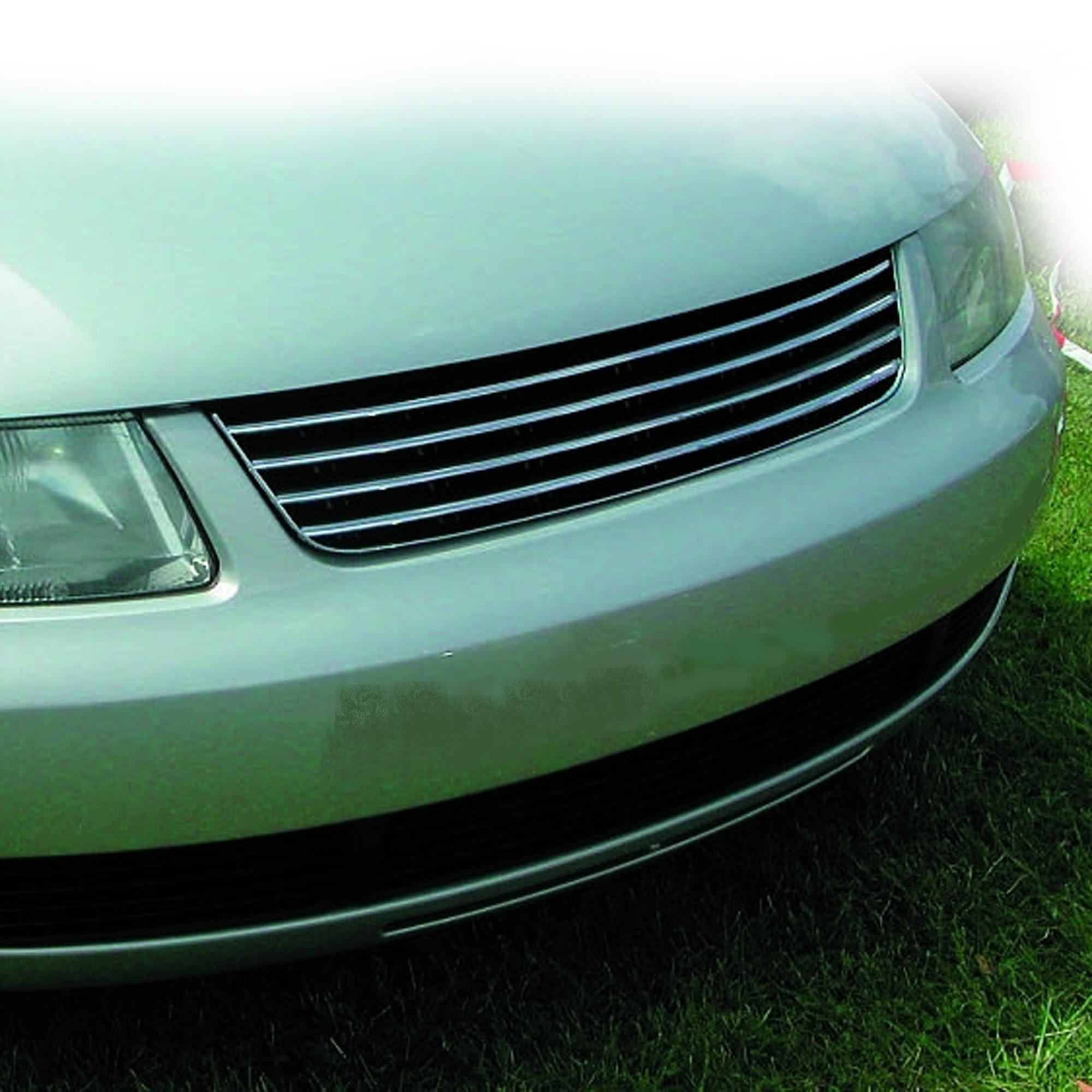 JOM Frontgrill sort/krom til VW Passat 3B årgang 1996-2000 - uden logo Styling