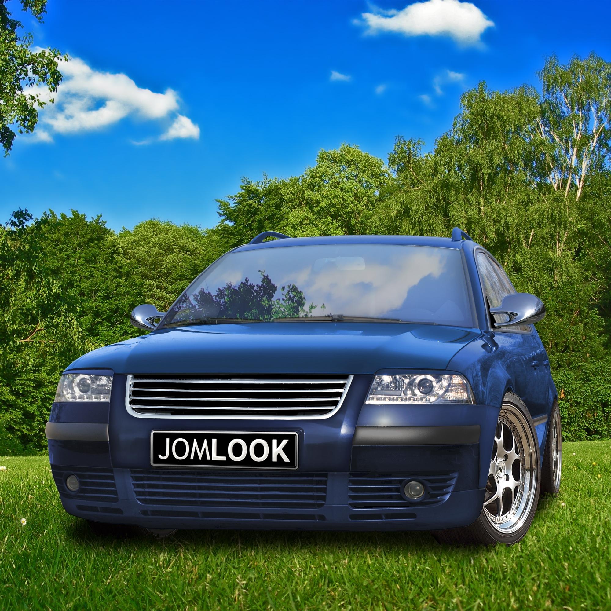 JOM Frontgrill i krom til VW Passat 3BG årgang 2000- - uden logo Styling