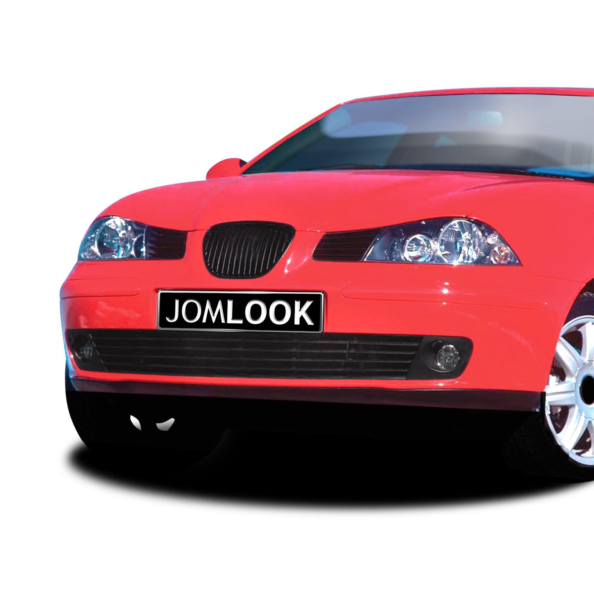 JOM Frontgrill sort til Seat Ibiza årgang 2002- - uden logo Styling