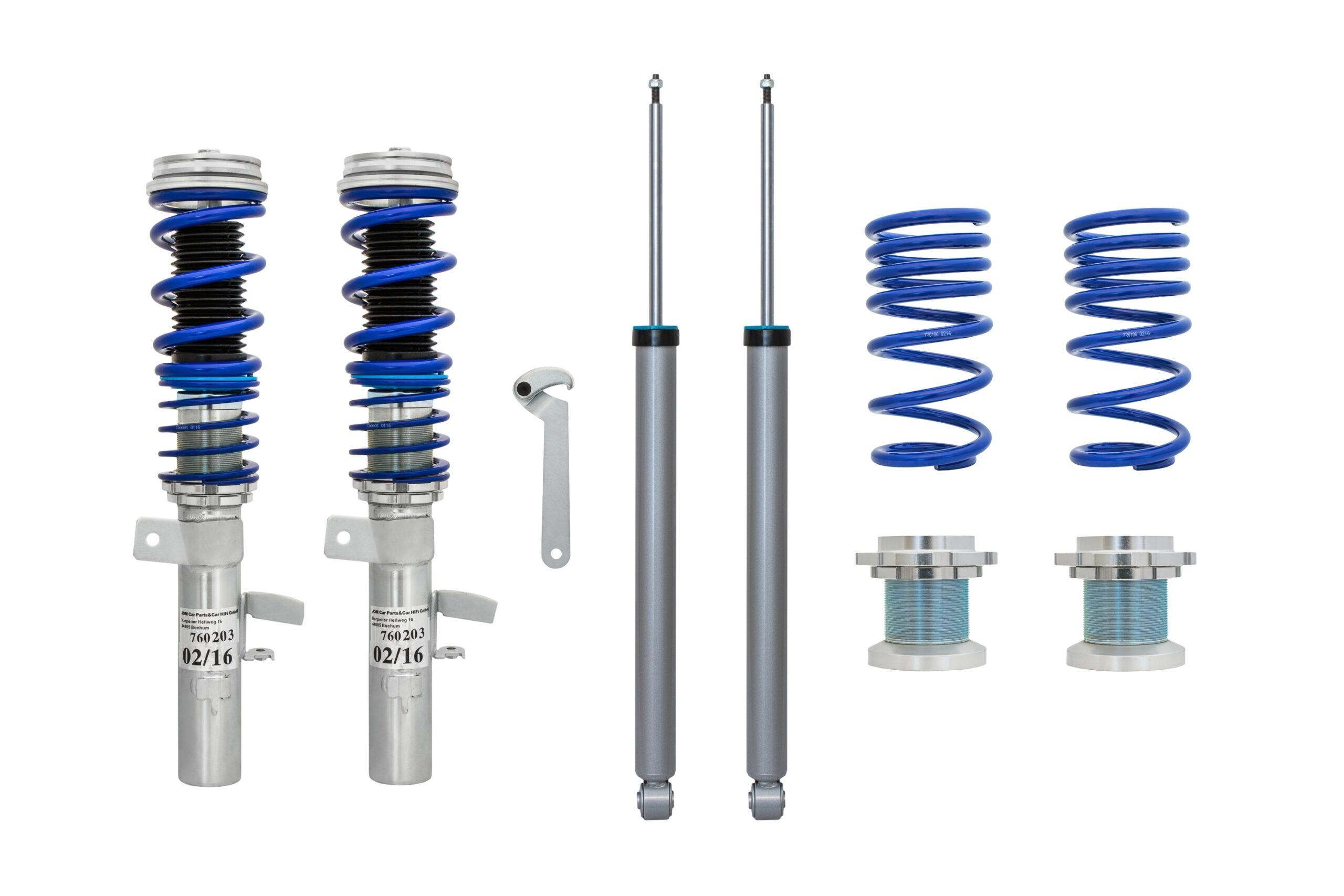 Blue Line - Gevindundervogn til Ford Focus 3 Limousine Styling > Gevindundervogn > Ford > Focus