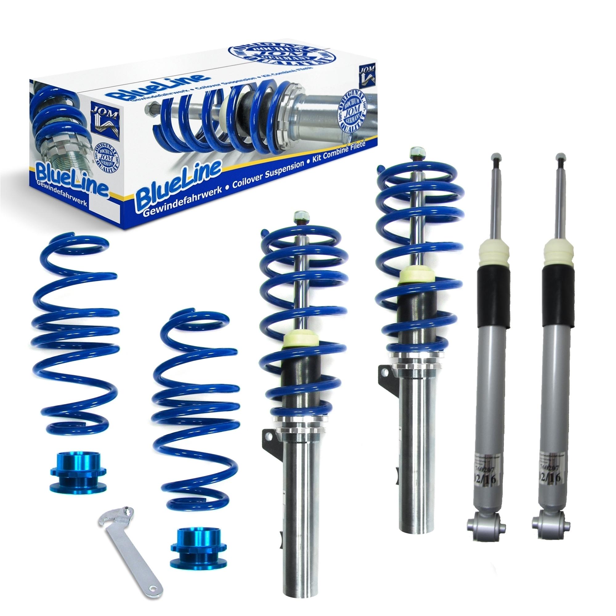 Blue Line - Gevindundervogn til VW Golf 7 Limousine og Sportsvan - Multi-Link Styling > Gevindundervogn