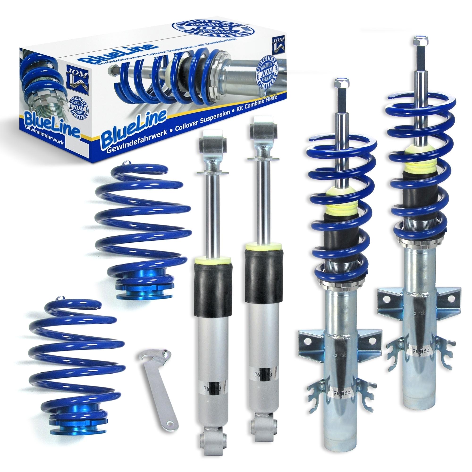 Blue Line - Gevindundervogn til VW T6 Transporter/Multivan 4Motion Styling > Gevindundervogn