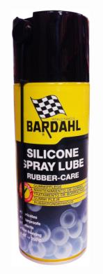 Bardahl Siliconespray - 400 ml. Olie & Kemi > Smøremidler