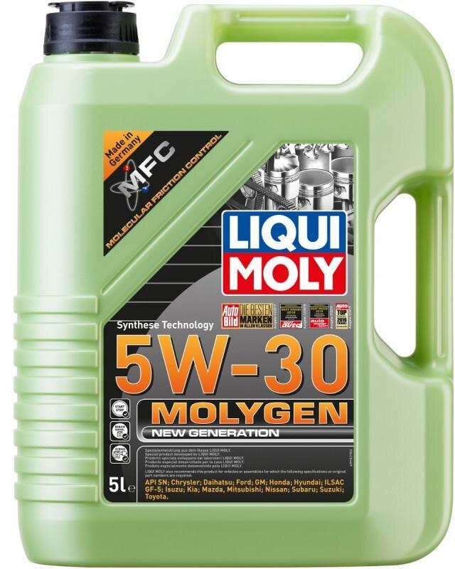 5W30 Molygen New generation motorolie fra Liqui Moly