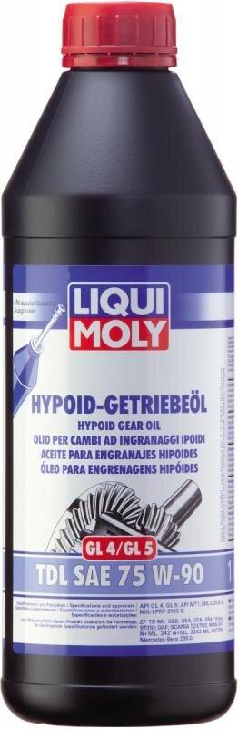 75W90 Gearolie TDL Hypoid semisyntetisk i 1 liters flaske fra Liqui Moly Gearolie fra Liqui Moly
