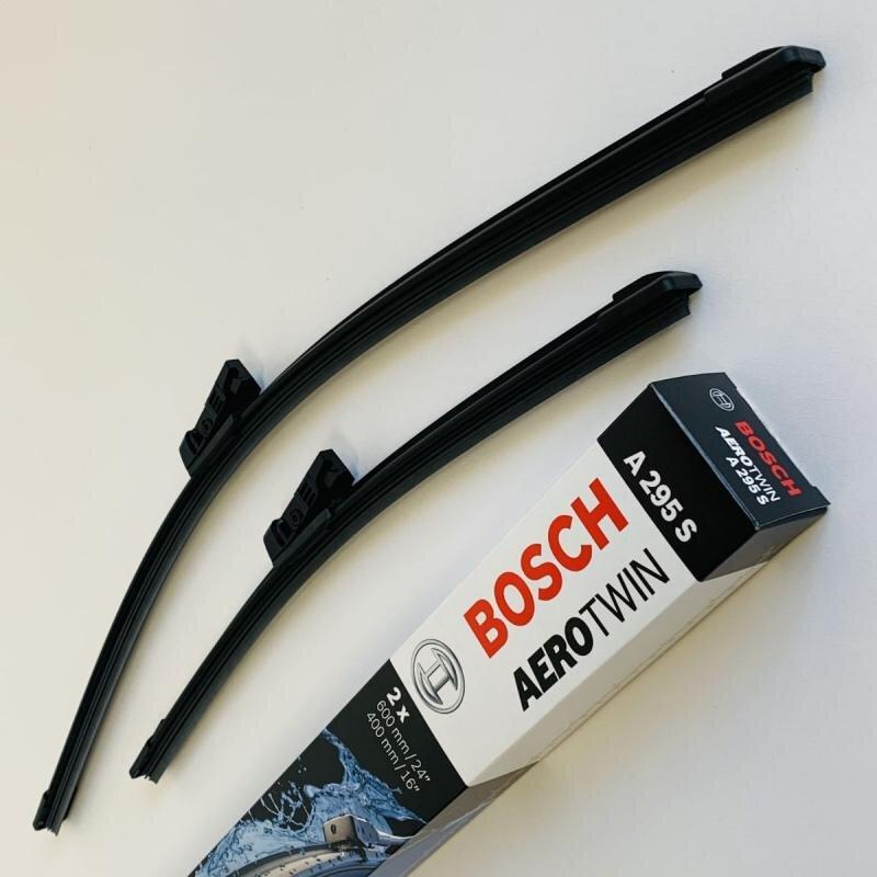 A295S Bosch AeroTwin Vinduesvisker / Viskerblade sæt 60+40cm passer til Seat Ibiza fra årg. 2006 og frem Bosch Vinduesvisker / Viskeblade & Bagrudeviskere
