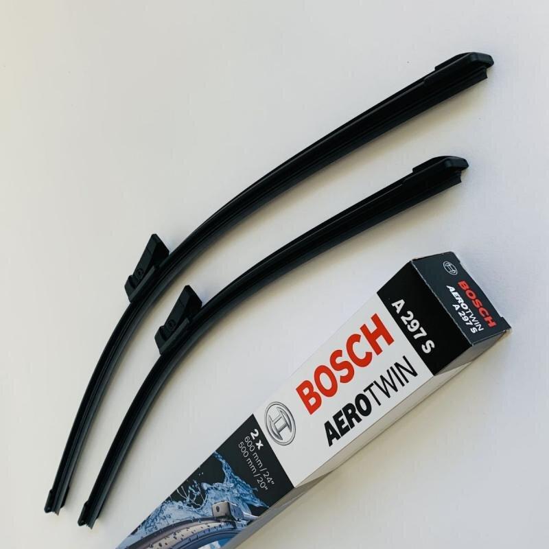 A297S Bosch Aerotwin Viskerblade / Fladblade sæt 60+50cm til flere Audi modeller Bosch Vinduesvisker / Viskeblade & Bagrudeviskere