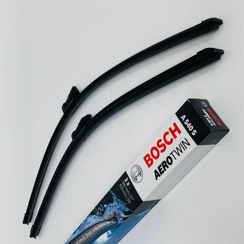 A540S Bosch AeroTwin Vinduesvisker / Viskerblade sæt på 68+62cm passer til Opel Astra J årg. 2009 og frem Bosch Vinduesvisker / Viskeblade & Bagrudeviskere