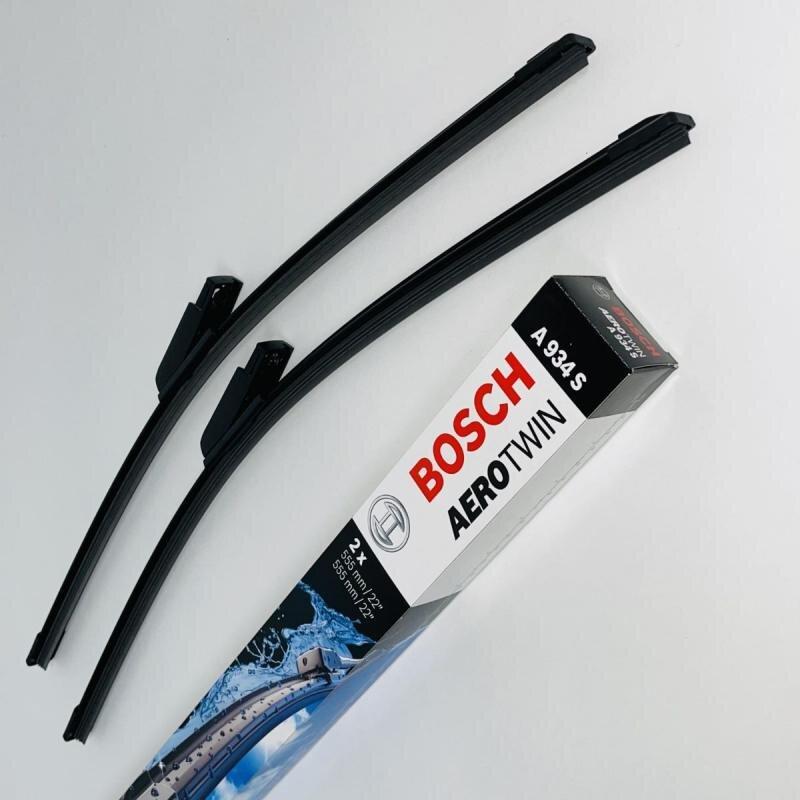 A934S Bosch AeroTwin Vinduesvisker / Viskerblade sæt på 2x55cm passer til Audi A6 fra 4. måned årgang 2004 og frem til 8.2011 Bosch Vinduesvisker / Viskeblade & Bagrudeviskere