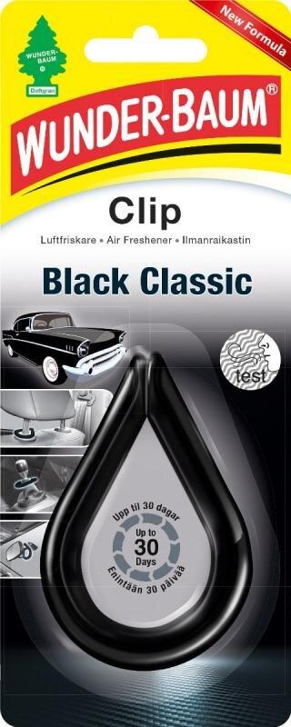 Black Classic dufte clip fra Wunderbaum Wunder-Baum dufte