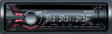 SONY CDXDAB500-CAL DAB radio med calearo antenne Bilstereo > DAB radioer