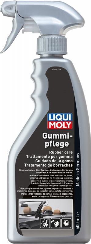 Gummipleje på spray
