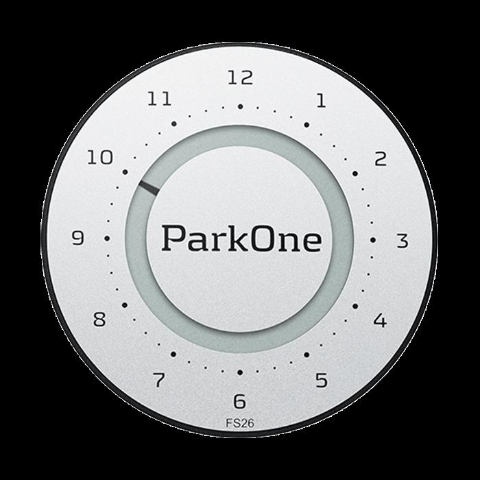 ParkOne 2 Titanium Silver Indvendig tilbehør > Parkeringsure