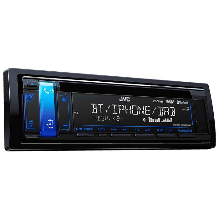 JVC autoradio KDD98BT-ANT CD / RDS turner