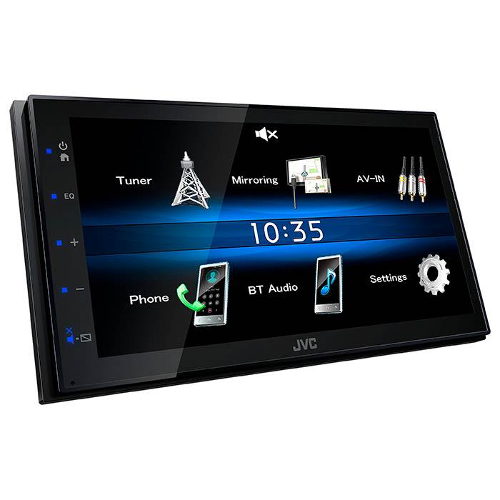 JVC KW-M25BT 2 DIN bilradio med skærm Bilstereo