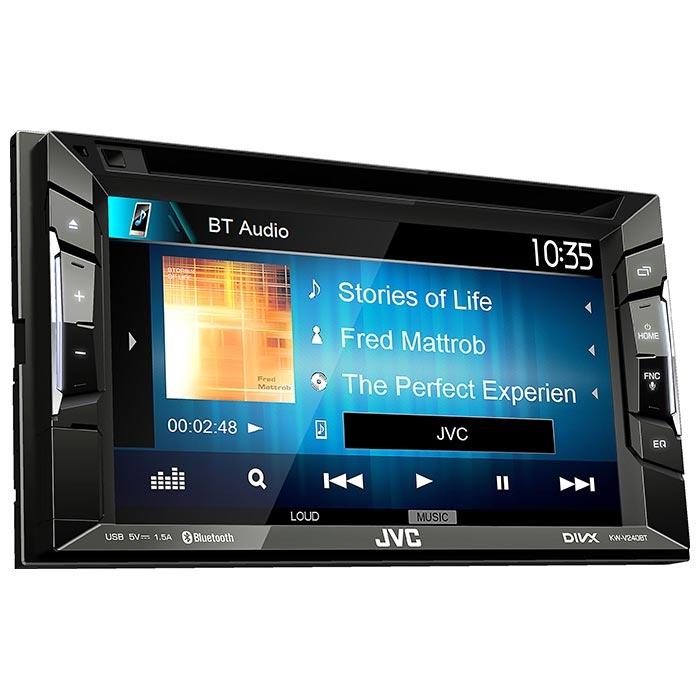JVC autoradio KWV240BT 2DIN CD / RDS turner m. Bluetooth Bilstereo