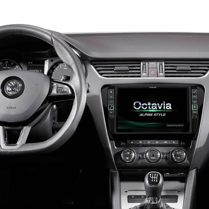 Alpine Style I902DOC3 Skoda Octavia - Multimedia Navigation Bilstereo
