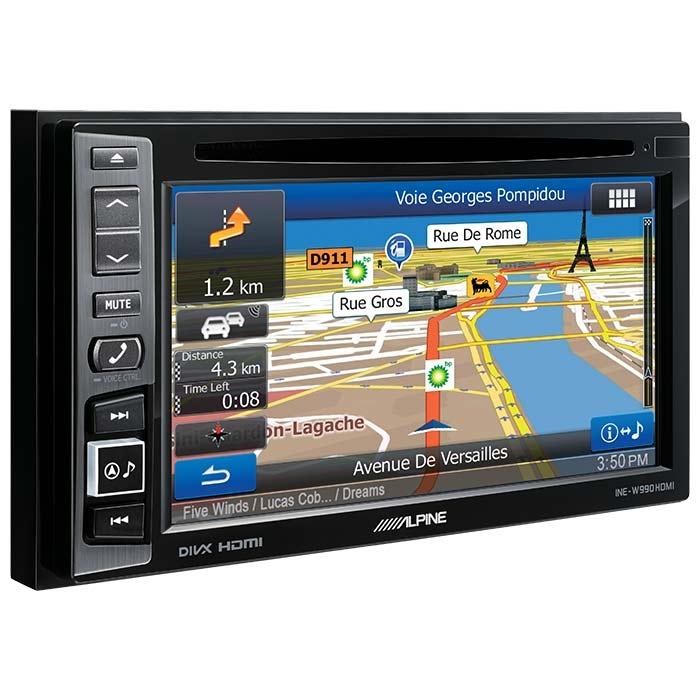Alpine INEW990HDMI 2DIN Multimedie Station med navigation Bilstereo > Multimedie
