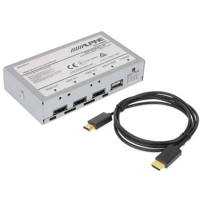 Alpine KCX630HD HDMI interface boks Bilstereo