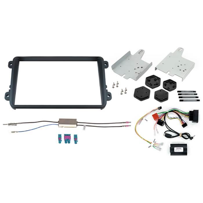 """Alpine KIT8VWD 2-DIN 8"""" kit+Disp. f. VW diverse modeller Bilstereo > Monteringssæt"""