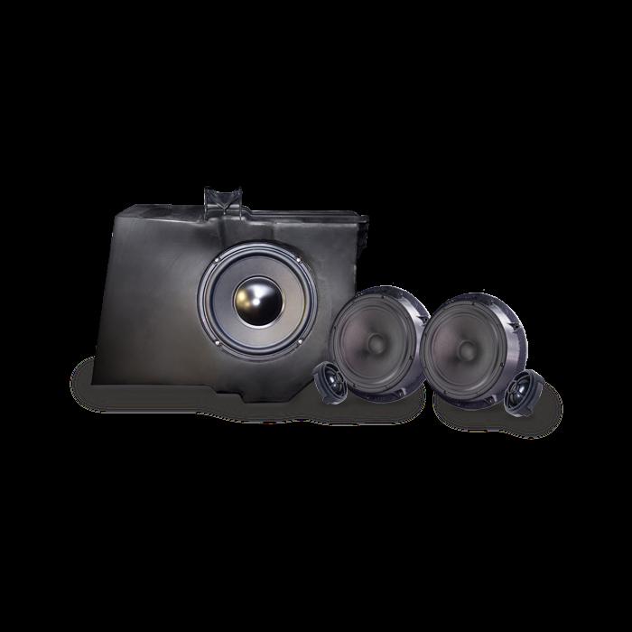 Alpine SPC100ML Højtaler og Subwoofer Mercedes ML Bilstereo > Custom fit > Mercedes