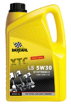 Bardahl Motorolie - XTC LS 5W/30 C4 Synthronic 5 ltr. Olie & Kemi > Motorolie