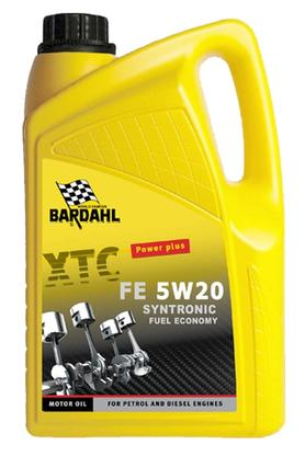 Bardahl Motorolie - XTC FE 5W20 Syntronic 5 ltr. Olie & Kemi > Motorolie