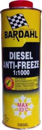 Bardahl Diesel Antifrost 1 ltr Olie & Kemi > Additiver