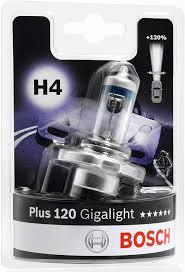 BOSCH giga light pære 120 H4 Udvendig tilbehør > Pærer > BOSCH