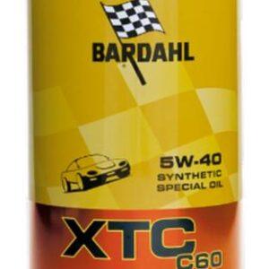 Bardahl Motorolie XTC C60 5W-40 Olie & Kemi > Motorolie